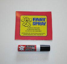 1 CAN OF FART BOMB SPRAY STINKY SMELLY GAS STINK BOMBS GAG GIFT PRANK JOKE