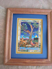 Diana Bryer THE TREE OF LIFE wood framed, MATTED  print 8 x 10