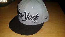 New York Yankees new era Fullcap Cap Grau