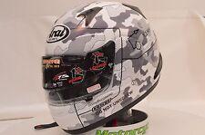 Arai Signet-Q Pro Tour Tactic White Full Face Racing Motorcycle Helmet XL 818104