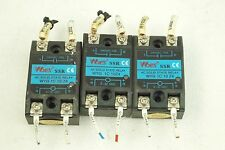 WYES SSR AC SOLID STATE RELAY WYG 1C 10Z4 LOT OF 3