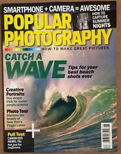 Popular Photography Catch Wave Beach Tips Creative Tests Aug 2015 FREE SHIPPING