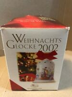 Hutschenreuther Christmas Bell {2002}, Porcelain Bell, Christmas Tree Pendant