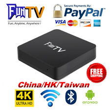 2018 Newest 2nd Gen of FUNTV TVBox Chinese HK Taiwan live TV and VOD 4K Adult TV