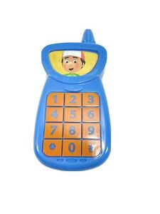 2007 Handy Manny Replacement Blue Phone Talking Singing Toolbox 4""