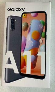 Samsung Galaxy A11 SM-A115U 32GB(AT&T GSM Single Sim) Unlocked Phone Black