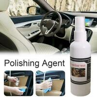 30/100ml Auto Leather Renovated Coating Paste Maintenance Agent Seat Car Care