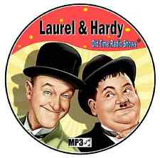 LAUREL AND HARDY - 36 Old Time Radio Shows + Mp3 DVD
