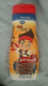 (2) Disney, Jake & The Neverland Pirates kids Bubble Bath, large 24 oz.