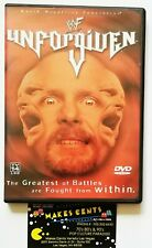 Original WWF WWE 2001 UNFORGIVEN Stone Cold The Rock Undertaker McMahon USA DVD