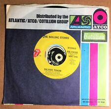 Rolling Stones 45 Rock 1973 Silver Train Angie Unplayed Glossy Mint- Beauty