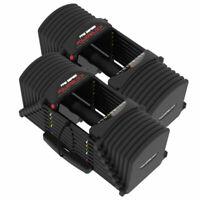 NEW POWERBLOCK PRO EXP 5-90LB Series Adjustable Dumbbells | **SET OF 2**