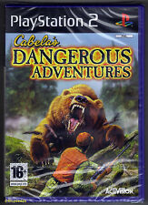 PS2 Cabela's Dangerous Adventures (2008), UK Pal, Brand New & Factory Sealed