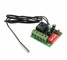 DC 12V Heat Cool Temp Thermostat Temperature Control Switch Thermometer 20-90°C