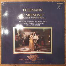TELEMANN - PIMPINONE - LP