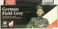 Vallejo acrylic paint German Field Grey set.