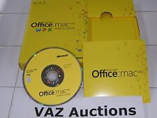 MS Microsoft Office MAC 2011 Home and Student Family Pack For 3PCs =Full Retail=