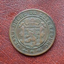 More details for luxembourg 1870 bronze 10 centimes - scarce - no dot above barth