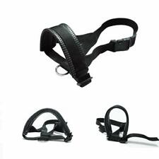 Dog Muzzle XLarge Dogs Prevent Biting Barking Chewing Adjustable Loop Black