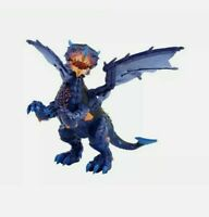 WowWee - 3956 Untamed Legends Dragon - Vulcan Interactive Toy - Dark Blue - New!
