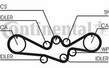 CONTITECH Kit de distribution pour LEGACY CT1050K1 - Pièces Auto Mister Auto