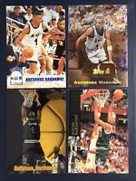 Anfernee Hardaway 1993-94 Hoops GOLD  #380 4 Card Lot Inserts Chrome Rookie Rc A