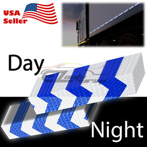DOT-C2 Conspicuity Arrow Reflective Tape 1 Foot/Stripe Safety Warning Trailer RV
