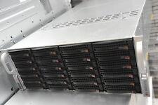 Supermicro 4 x E5-4650 v2, 128 GB RAM, X9QRI-F+, 24 Drive Bays  CSE-848
