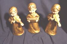 Vintage Paper Mache Angel Angels Band Gold Japan