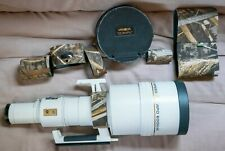 "New Listing""Excellent"" Minolta Af Apo Hs Tele 600mm F/4 G SonyA wLensCoat, LowePro Case Usa"