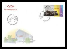 Iceland 2008 FDC, 100th. Anniversary of The Teachers College, Lot # 3.