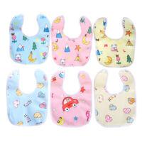 1pc cotton baby feeding cute cartoon feeding soft  towel baby eating accessor 3C