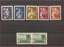 CROATIA(YUGOSLAVIA)- semi-postals plus error pair(imperf in between)