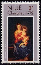 NIUE 1972 Christmas 1v set Sc#156 MNH @S4806