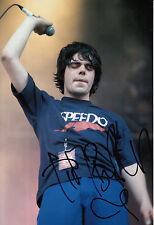The Charlatans Tim Burgess Hand Signed 12x8 Photo Modern Nature 6.