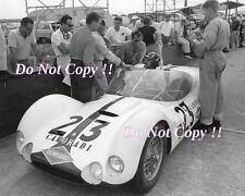 Graham Hill CAMORADI MASERATI TIPO 61 sebring 12 H 1961 photographie