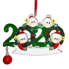 Christmas Tree Ornament 2020 Stay At Home Family Xmas Lockdown Decoration