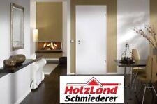 Zimmertür Innentür Komplettset CPL Weiß Tür mit Zarge