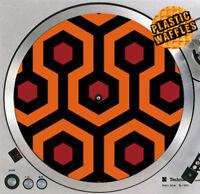 "The Shining Overlook Hotel #4 Slipmat Turntable 12"" Record Player, DJ Audiophile"