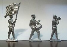 U.S. Sailors - Lead Toy Soldiers - Set of 3 - Made From Vintage Molds