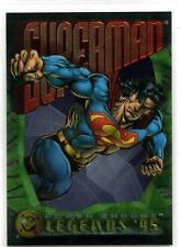 DC Legends '95 Power Chrome - Superman Promo Card - SkyBox 1995