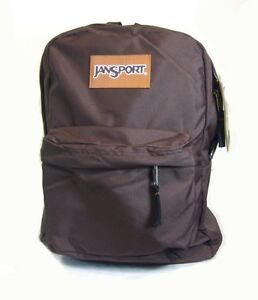 Super Break Jansport Basic BookBag/BackPack (Cuban Brown)