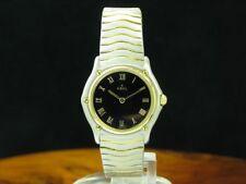 Ebel Classic Wave 18kt 750 Gold / Edelstahl Damenuhr / Ref 181908