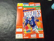 Johnny Unitas  wheaties box   18oz   Legends of Nfl  Leroy Neiman painting