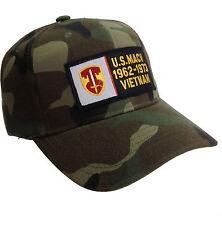 MACV SOG MACVSOG Hat Camouflage Ball Cap 1962 - 1973 Vietnam Veteran