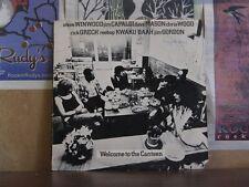 STEVE WINWOOD CAPALDI MASON WOOD, WELCOME TO CANTEEN LP