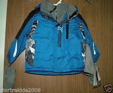 Zero Xposur Infant Boys Apex Puffer Jacket w/Beanie/Cap & Mittens, Size 2T( US)