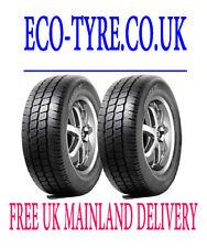 2X Tyres 185 75 R16C 104/102R Hifly Super2000 M+S E C 71dB