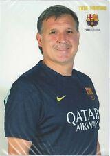 Postal postcard   Martino entr.  FC BARCELONA 13/14