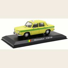 Renault 8 - Bamako Taxi - Mali 1970 - 1/43 (No23)